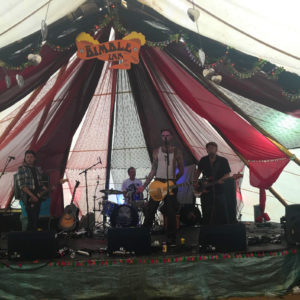 Savage Underdogs debut performance and the Bimble Inn at Beautiful Days Festival 2018