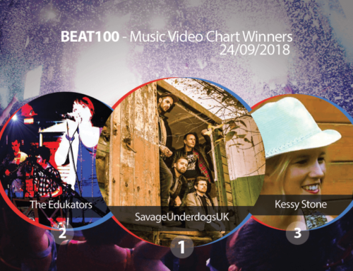 Beat100 official No.1 in charts announcement