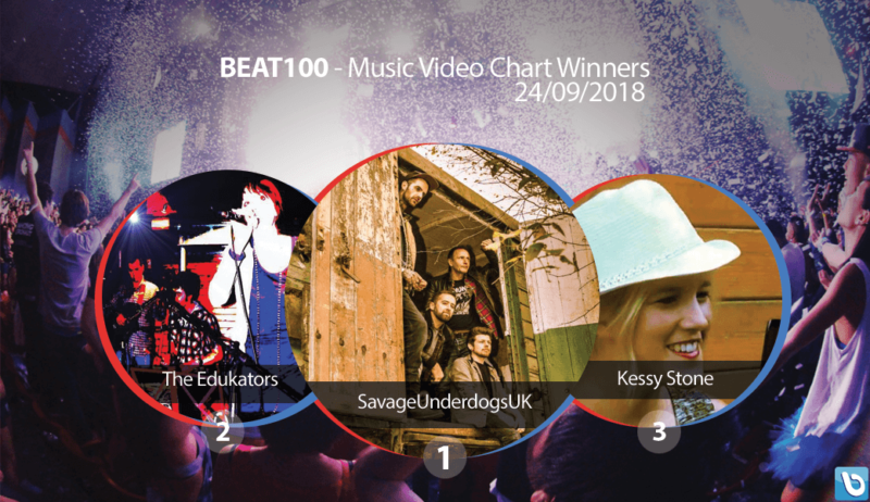 Savage Underdogs Beat100.com chart winners 24th September 2018